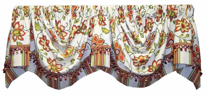 Monarch valance almost custom - Boutique free valence ...