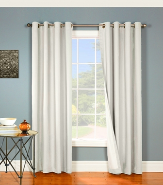 Nantucket Black Out (single) Grommet Panel - Thermalogic