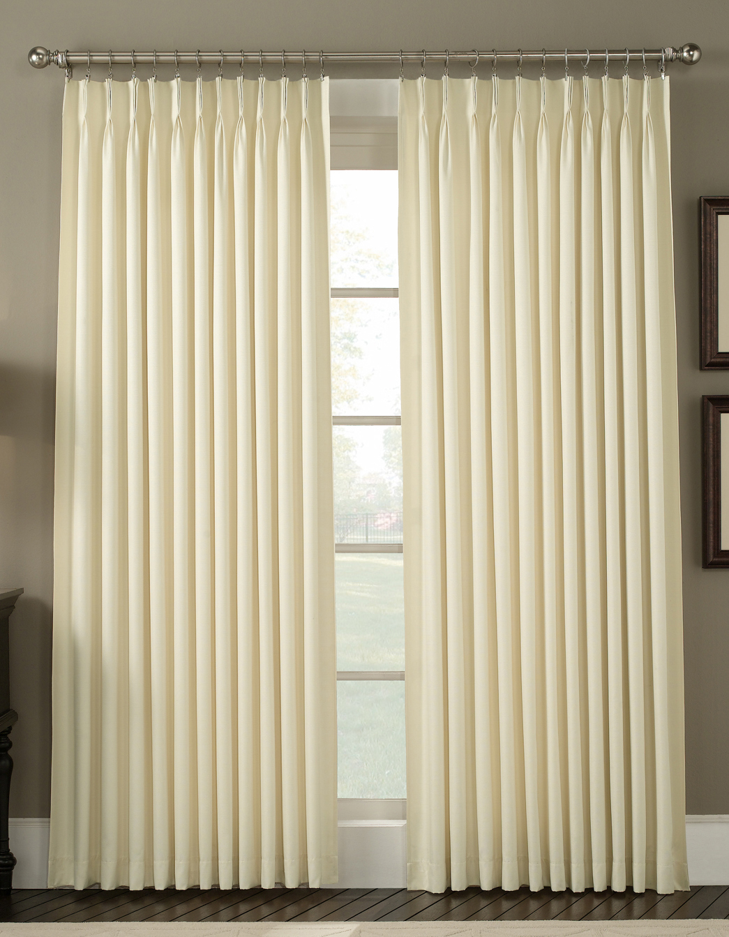 for slides archaicawful curtains rods innovation pleated draw panels traverse curtain drapes sheer rod