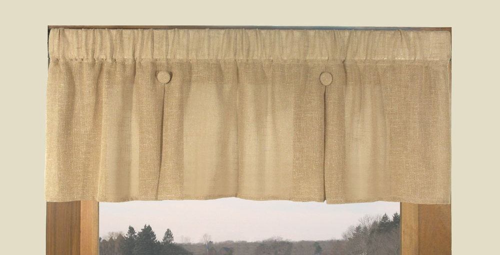 Need machine sew adding fabric panel to curtains toile valance features - Boutique free valence ...