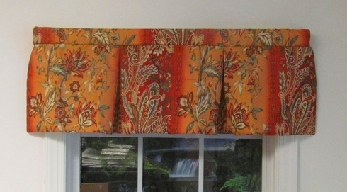 Fiesta Pleated Valance - Victor Mill - SOLD OUT