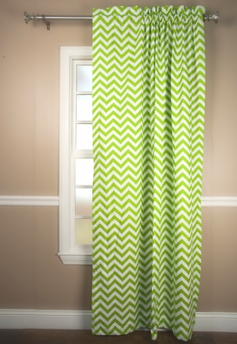 Reston Tailored Rod Pocket Curtain Panel