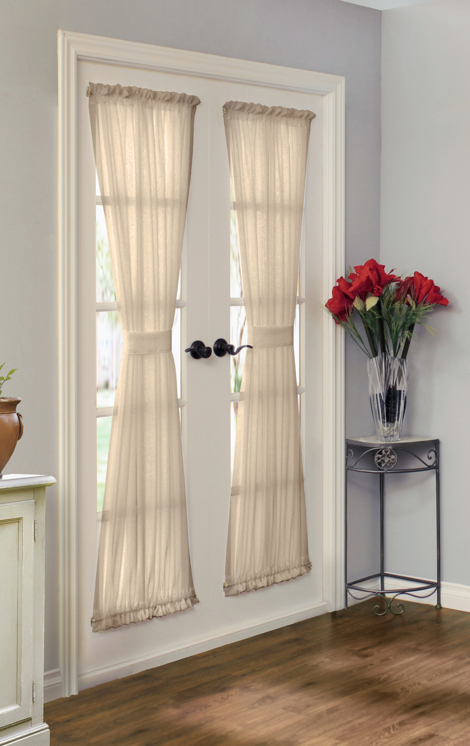 rhapsody lined door panel - Door Panel Curtains