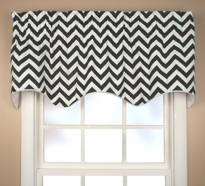 Scallop Valance - Reston Chevron