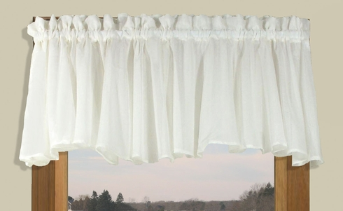Sea Glass Tailored Valance 55W x 12L - SOLD OUT