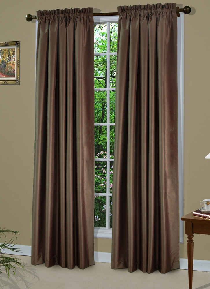Shangri La Insulated Rod Pocket Curtain Panel Sold Out
