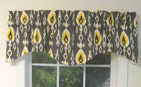 Shaped Valance - Custom Select