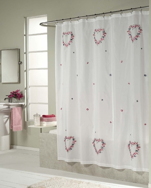 Shower Curtain - Hearts - SOLD OUT