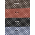 Shower Curtain - Tyvek Rust  - SOLD OUT
