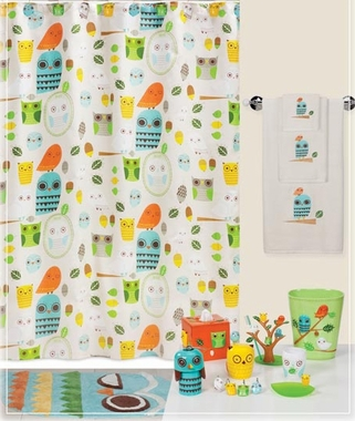 Shower Curtains - Give A Hoot
