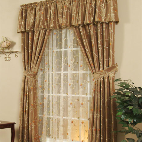 Sheer curtain and door panels sheer curtain panels at for Online curtains and drapes