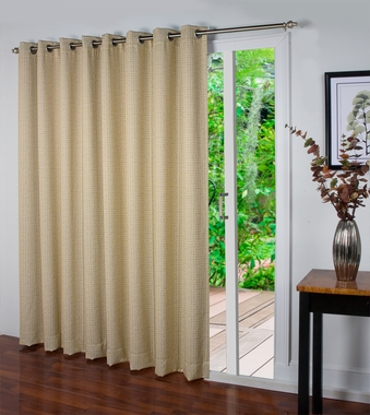 Spanish Steps Insulated Grommet Patio Panel - SOLD OUT