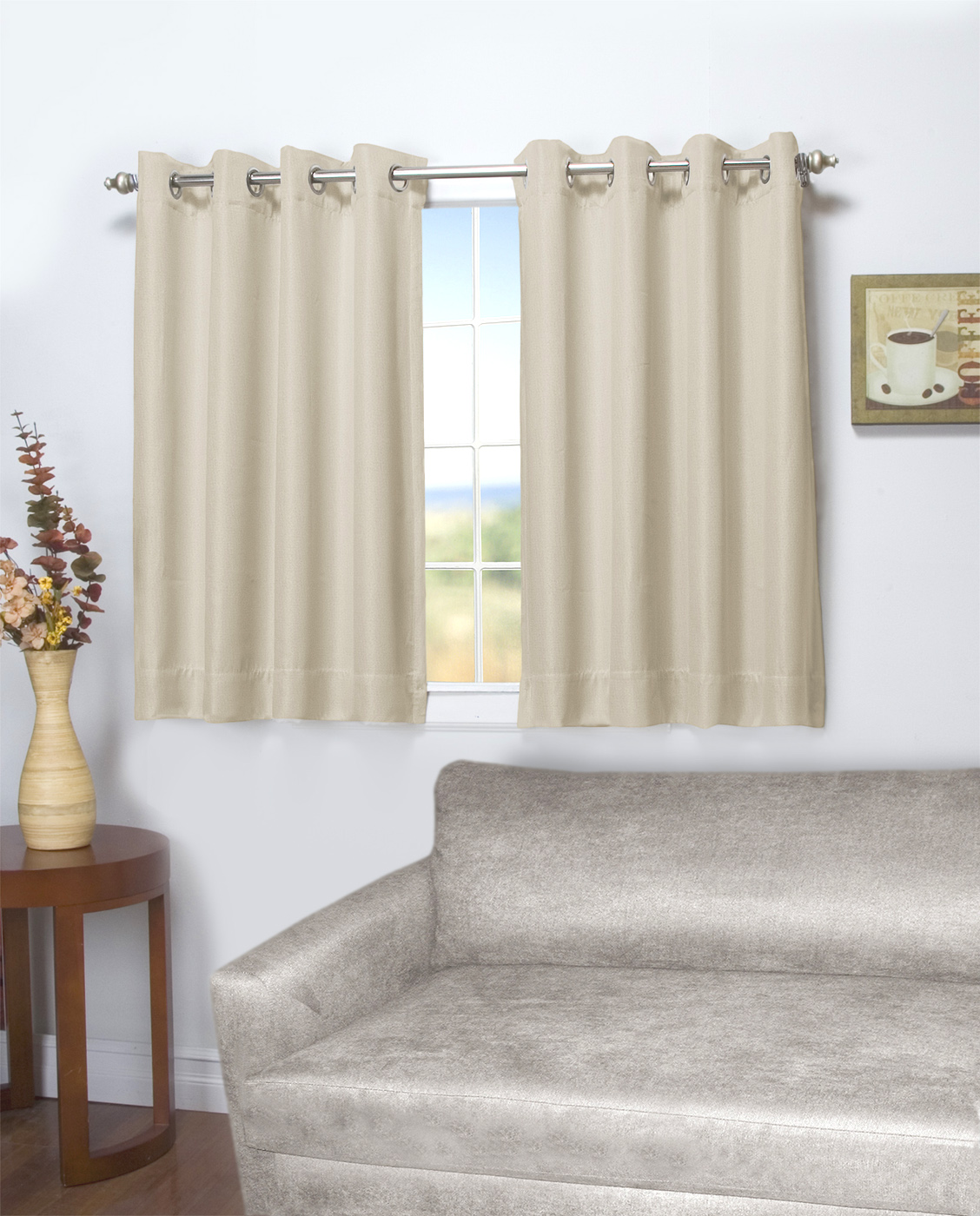 Beautiful 45 Inch Long Curtains
