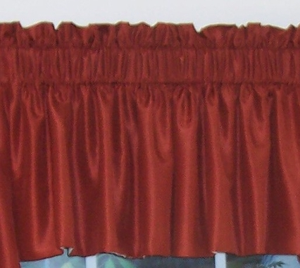 Tailored Insert Valance - Persia  - CLEARANCE