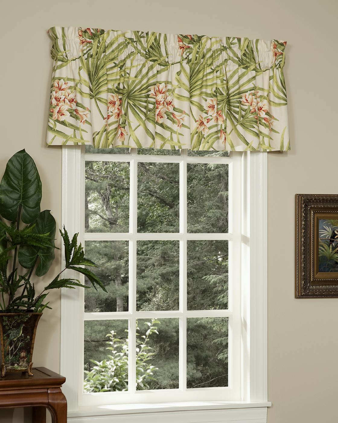 Tailored valance cozumel by thomasville - Boutique free valence ...