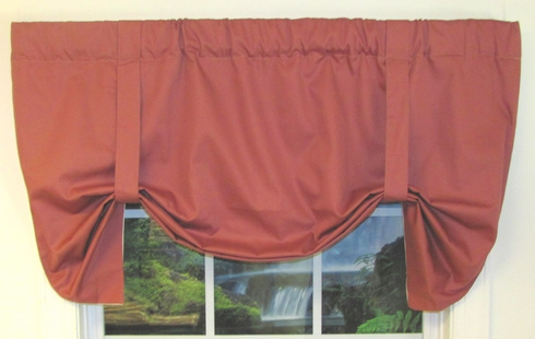Amherst Tie-Up Valance - CLEARANCE