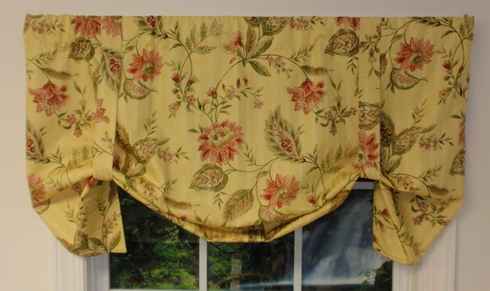 Tie Up Valance - Michaelina  - CLEARANCE