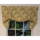 Tie-Up Valance - Omaha - Black Brown