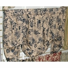 Palmer Toile Green - Tie Up Valance