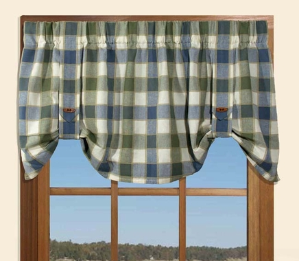 Tie Up Valance - Plymouth Plaid - SOLD OUT