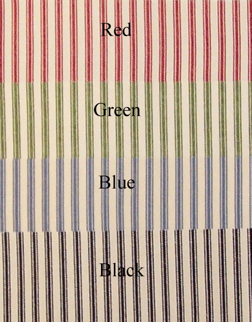 Ticking Stripe Tie Up Valance Thecurtainshop Com