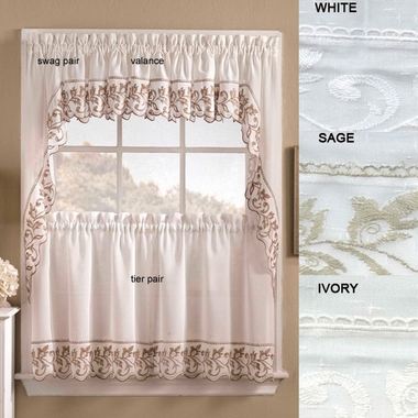 Tier Curtains - Brittany
