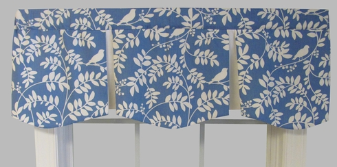 Tippi Bluebird London Valance