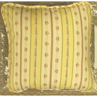 Suzanne Stripe Toss Pillow - Yellow