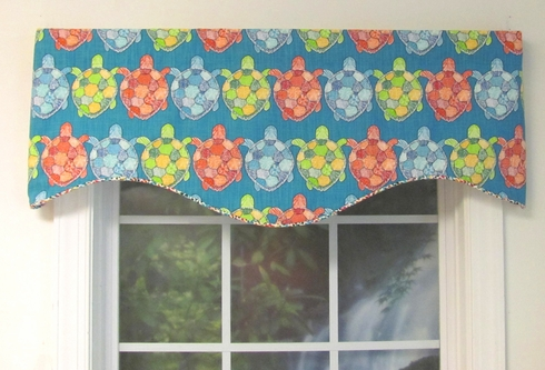 Turtlebay Opal Avalon Valance