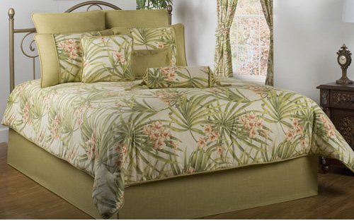 Sea Island By Victor Mill Tropical Comforter Set