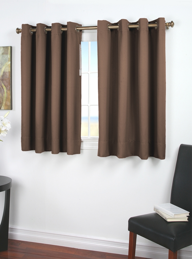 Ultimate Black Out Grommet Curtain With Wand For Problem