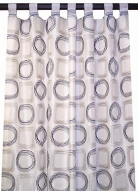 Unlined Tab Top Curtain Panel - Olde Towne - Almost Custom