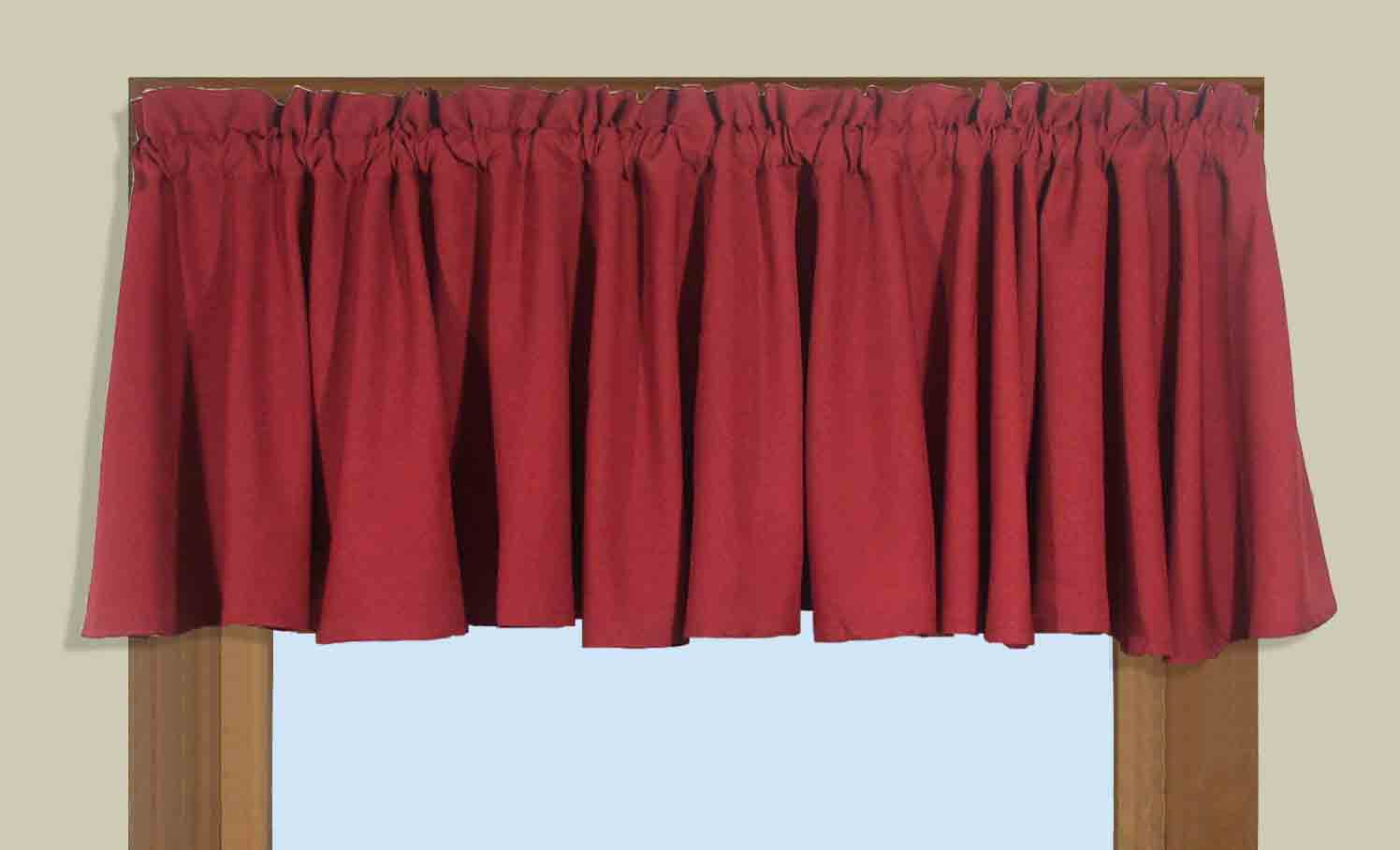 Glasgow curtains and valances - Boutique free valence ...
