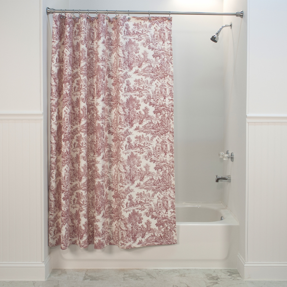 Victoria Park Toile Shower Curtain