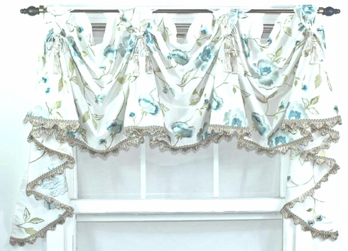 Victory Valance - Bonita Oyster- Sold Out