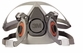 3M Half Facepiece Reusable Respirator 6200 (Medium)