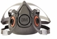 3M Half Facepiece Reusable Respirator 6300 (Large)