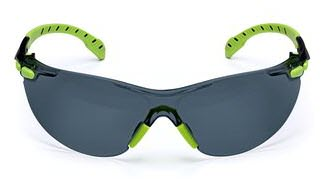 3M Solus 1000 Grey Anti-Fog Safety Glasses S1202SGAF
