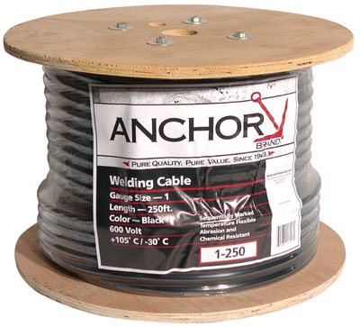 Anchor #1 Welding Cable - 250 ft. Reel