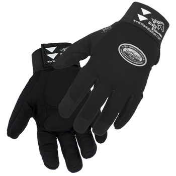 Black Stallion Mechanic's Glove - Synthetic Leather 99PLUS
