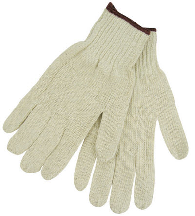 Black Stallion Cotton/Poly String Knit Gloves 2111