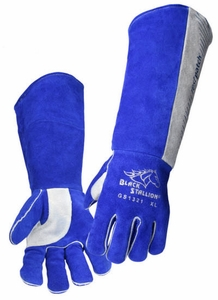 Black Stallion Welding Gloves - 21 Inch GS1321-BG