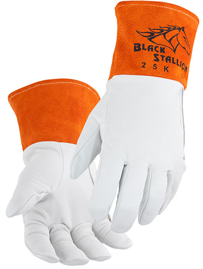 Black Stallion Welding Gloves - Kidskin TIG Glove 25K