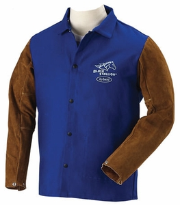 BSX Welding Jacket - Hybrid FR Cotton/Cowhide FRB9-30C/BS