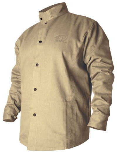 BSX Welding Jacket - Khaki FR Cotton BXTN9C