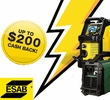 ESAB Cash Back Promotion