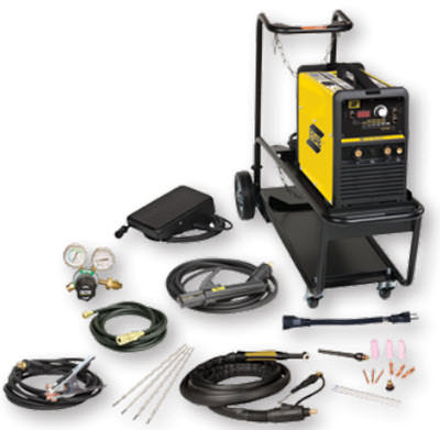 ESAB ET141i AC/DC TIG Welding System with Foot Control and Cart