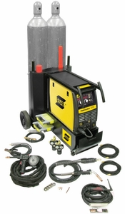ESAB Fabricator 252i Package with Dual Cylinder Cart W1004403