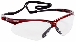 Jackson Nemesis Clear Safety Glasses - Anti-Fog 47378