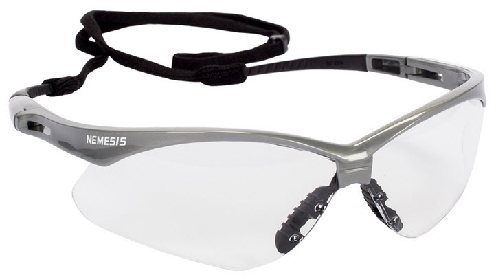 Jackson Nemesis Clear Safety Glasses - Anti-Fog 47388